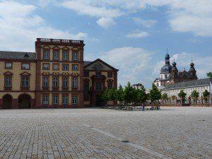 Mannheim: Schloss und Jesuitenkirche