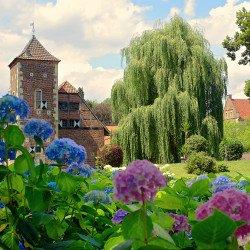 Schloss Hülshoff Teilansicht
