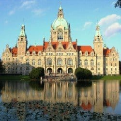Neues Rathaus in Hannover