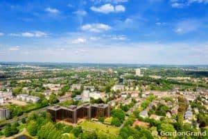 Dortmund, Blick und Aussicht vom Fernsehturm