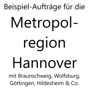Bild für News über Beispiel-Aufträge für die Metropolregion Hannover
