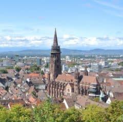 freiburg, kathedrale, breisgau